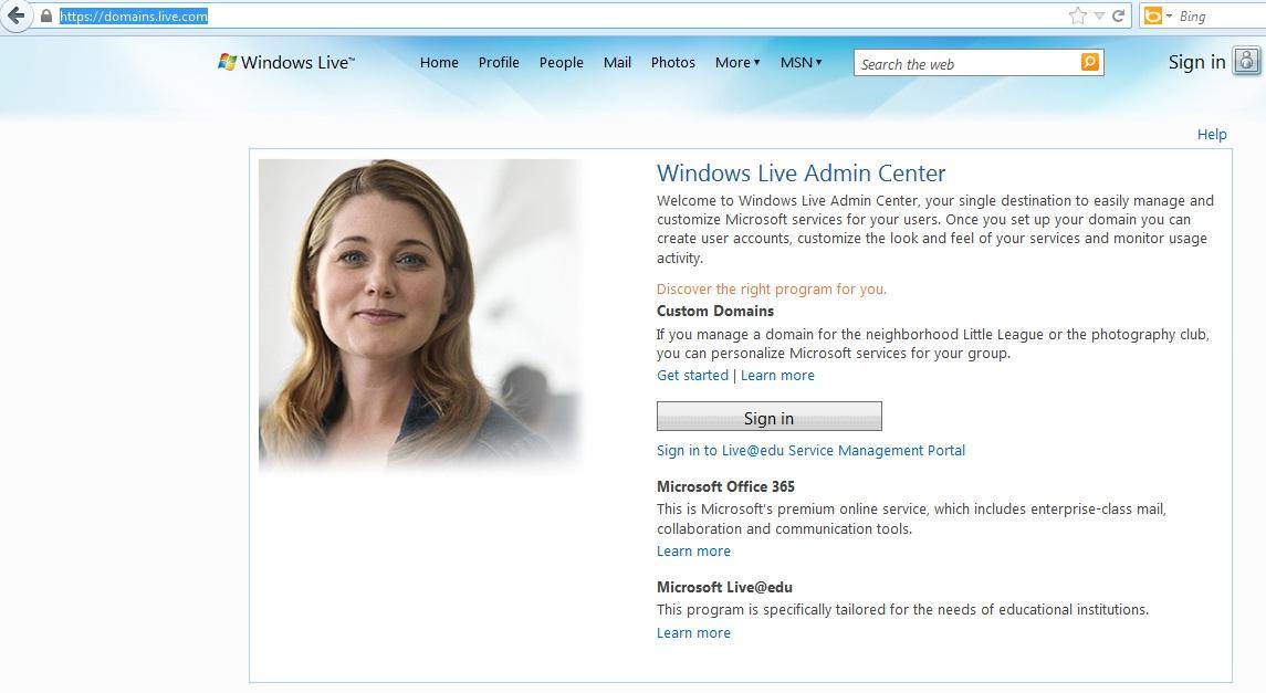 Hướng dẫn cấu hình Email theo Domain sử dụng Host Hotmail – Microsoft