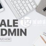 THẾ GIỚI SỐ tuyển Sale Admin