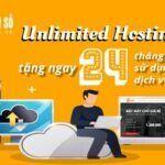 Tuần lễ vàng dành cho Unlimited Hosting chỉ có ở Thế Giới Số
