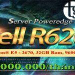 Cho thuê SERVER DELL R620 giá rẻ tại Thế Giới Số